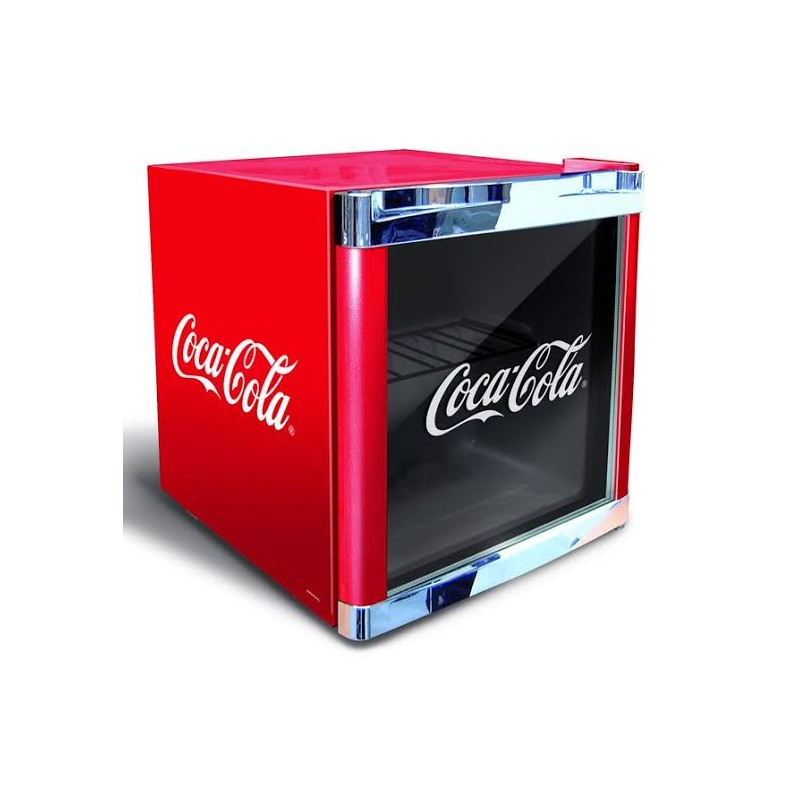petit r frig rateur frigo vitrine coca cola boissons 50 l. Black Bedroom Furniture Sets. Home Design Ideas