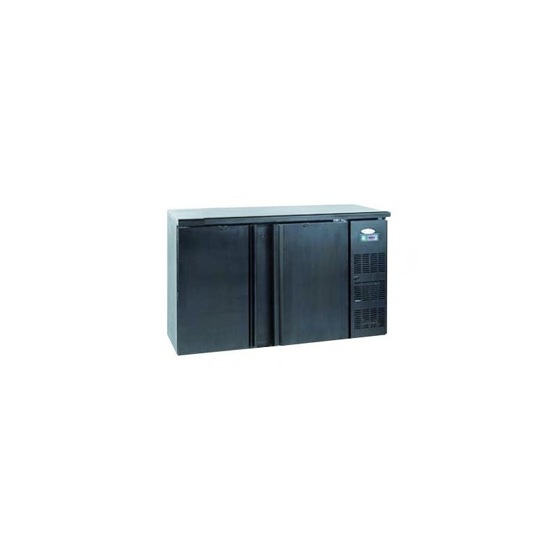 meuble frigo froid pour arri re de bar avec deux portes pleine. Black Bedroom Furniture Sets. Home Design Ideas