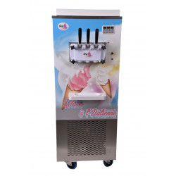 Machine à glace italienne soft ice professionnelle