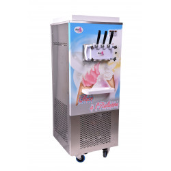 Machine à glace italienne soft ice 3 becs