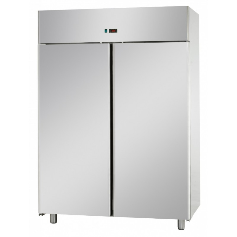 armoire frigo inox de stockage 2 portes 1400 l. Black Bedroom Furniture Sets. Home Design Ideas