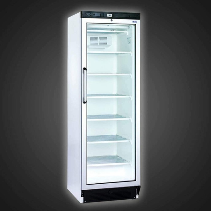 frigo vitrine pour la conservation des boissons avec porte vitr e 380l. Black Bedroom Furniture Sets. Home Design Ideas