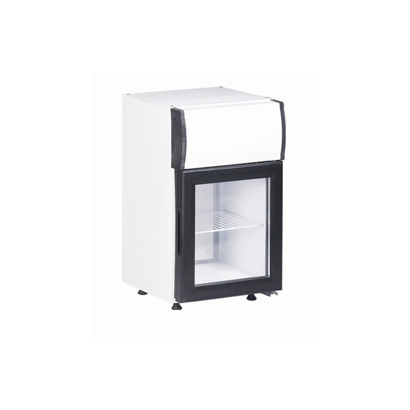petit frigo vitrine pour canettes kl o top bar 20 l. Black Bedroom Furniture Sets. Home Design Ideas