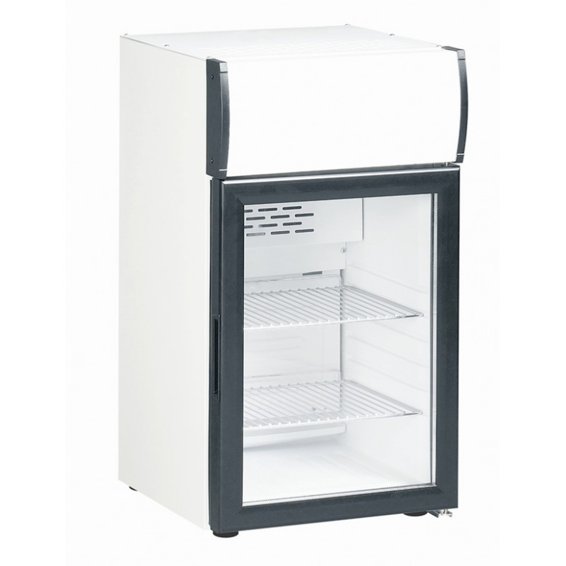 Frigo vitrine bar congelateur tiroir - Frigo table top noir ...