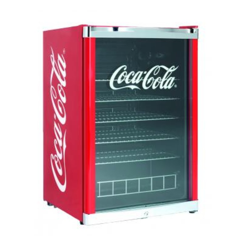 petit frigo vitrine coca cola boissons 115 l rouge coca cola. Black Bedroom Furniture Sets. Home Design Ideas