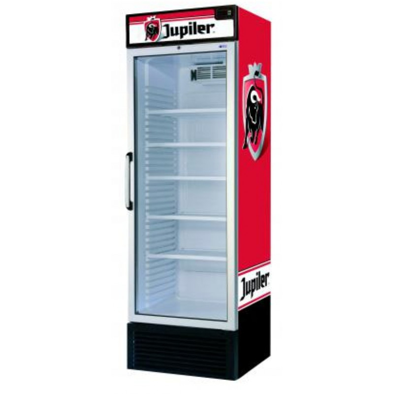 frigo vitrine jupiler dranken koelkast met een glazen deur. Black Bedroom Furniture Sets. Home Design Ideas