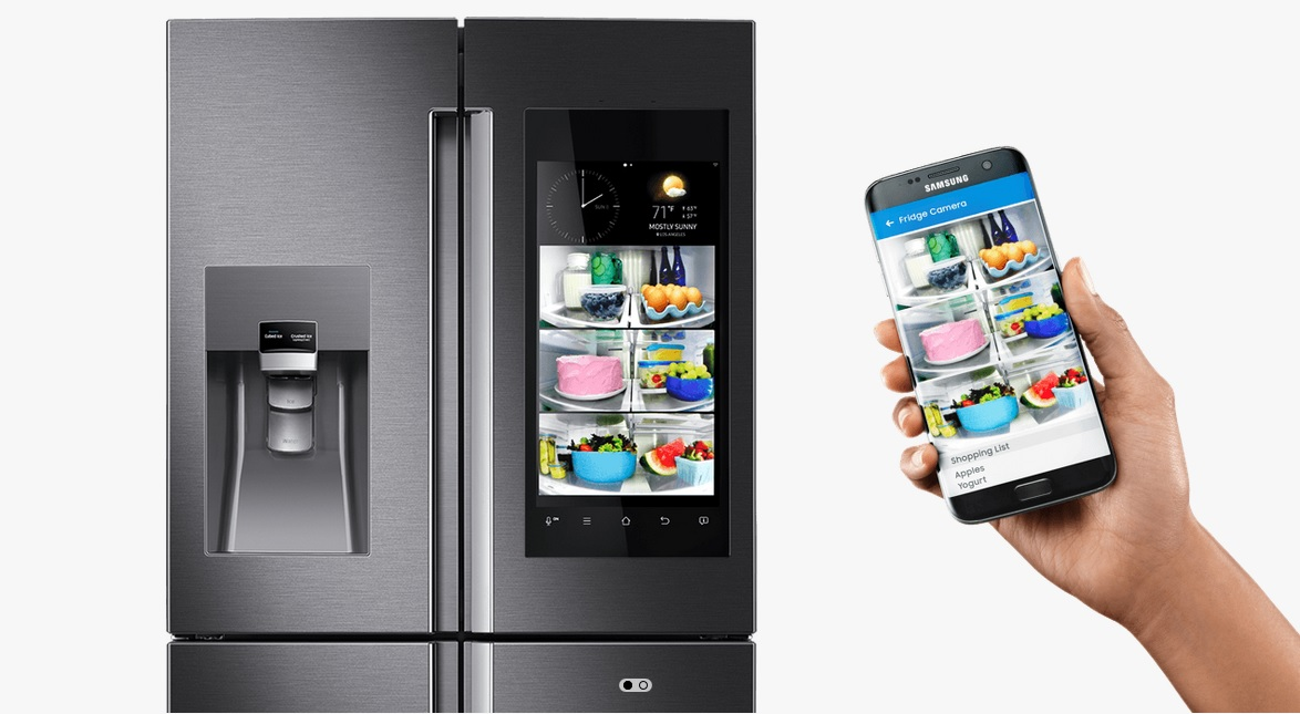 Le Frigo Connect 233 224 Internet Le R 233 Frig 233 Rateur Samsung